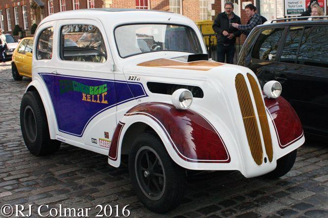 1954 Ford Chevrolet Psychedelic Relic, Merv Barnett, Avenue Drivers Club, Queen Square, Bristol