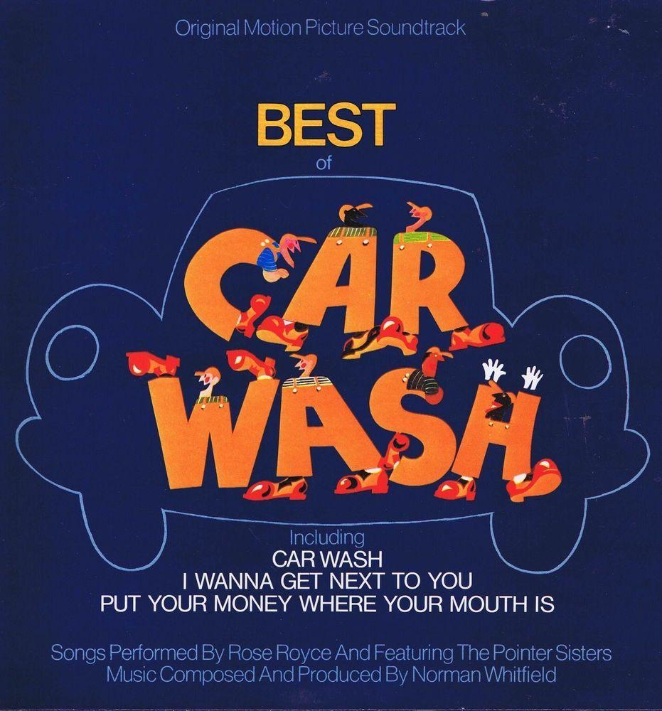 Best Of Car Wash Original Motion Picture Soundtrack LP