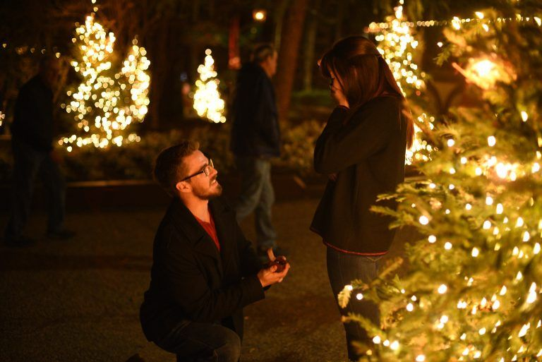 Kathryn And Ian S Proposal On The Knot S Howtheyasked Com