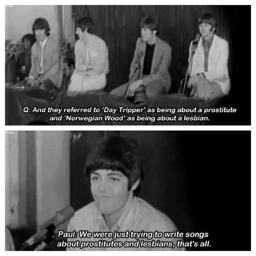 The Beatles Paul Mccartney Song Meanings Beatles Funny Beatles Quotes Beatles Love
