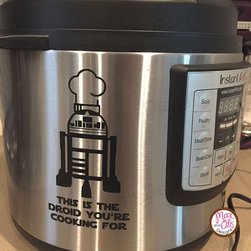 pressure cooker crock pot decal dinners claimed IP decal Instant pot Decal daryl
