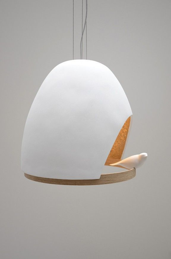 Lampe Oiseau By Olivier Chabaud X Jean Francois Bellemere X
