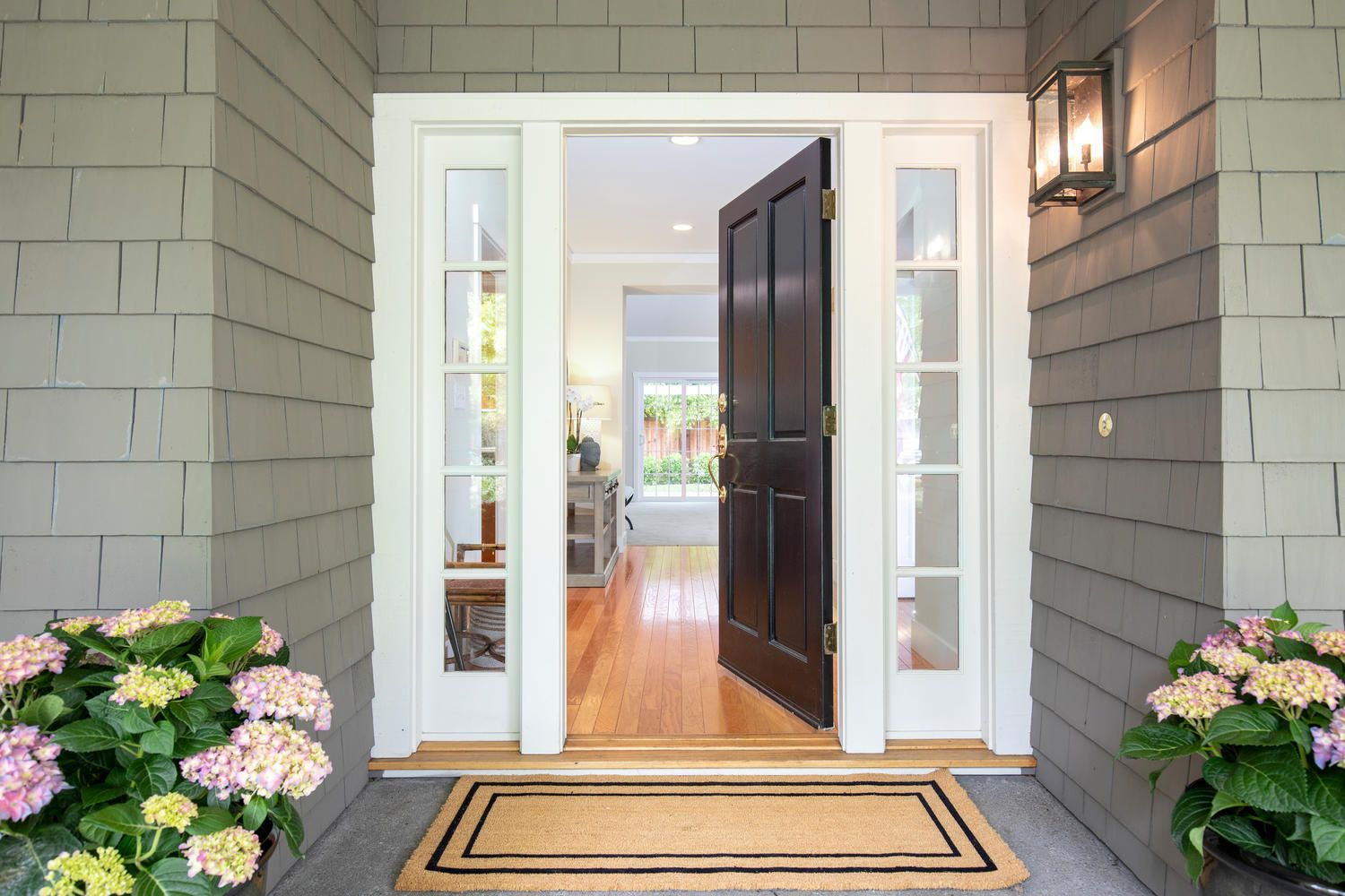 Open front door photo for real estate listing in Walnut