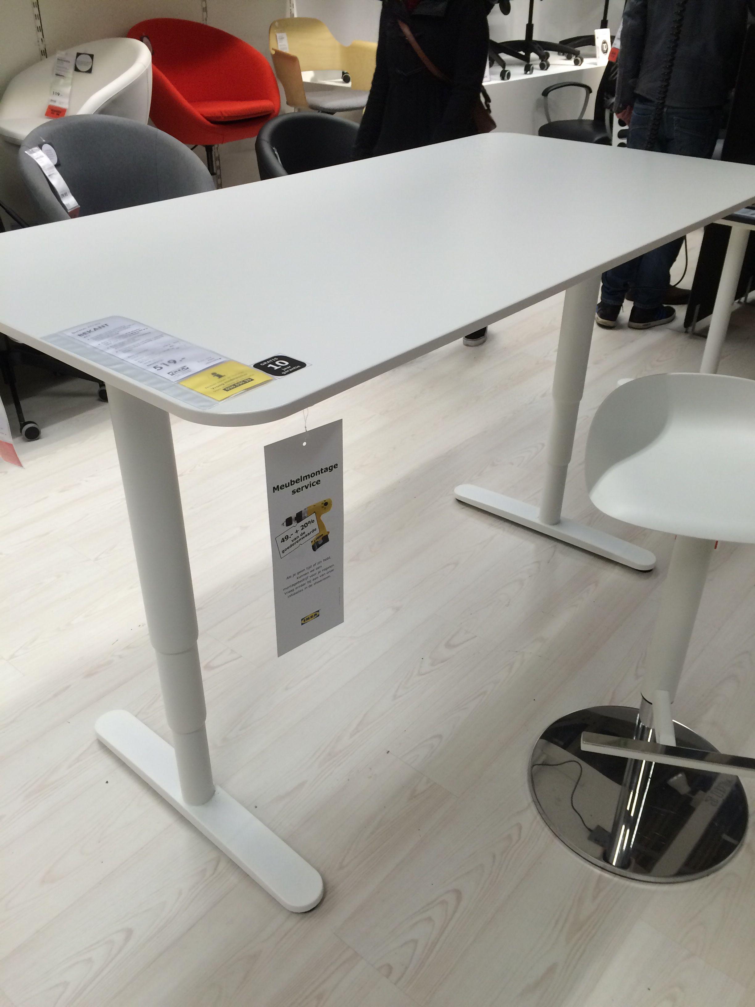 Ikea Zit Sta Bureau.Zit Sta Bureau Bekant 519 Ikea 160x80cm Bureau Zolder