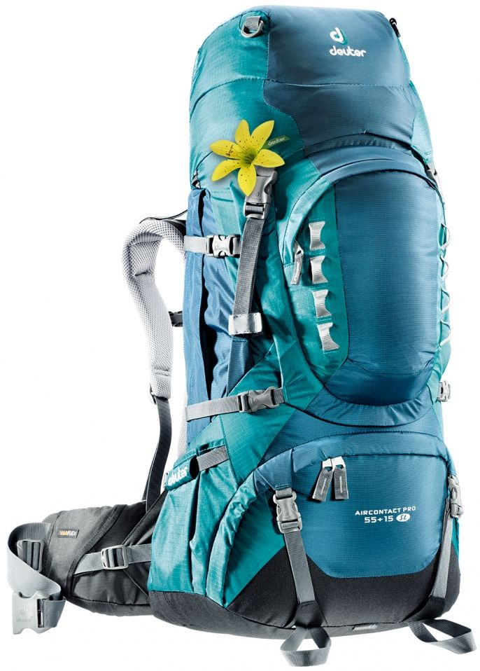 17d4e3bd5b Trekkingbackpack Aircontact PRO 55 + 15 SL  The perfect backpack for trekking  in a female specific version. The women s rucksack feature.