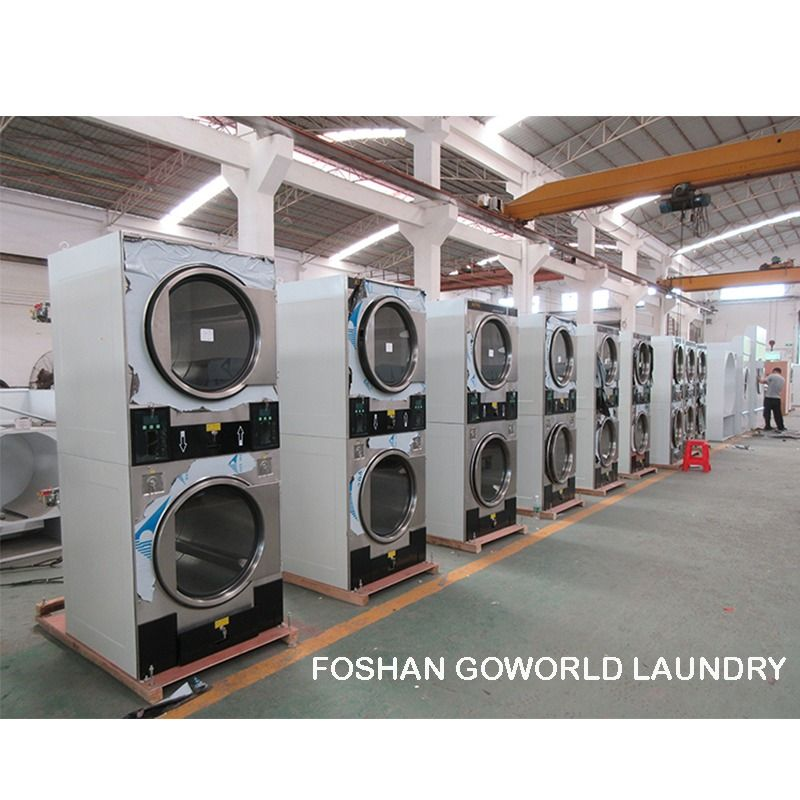 Natural Gas Heating Stack Dryer In 2020 Commercial Laundry