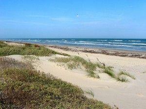North Padre Island Malaquite Beach Texas State Parks Beach
