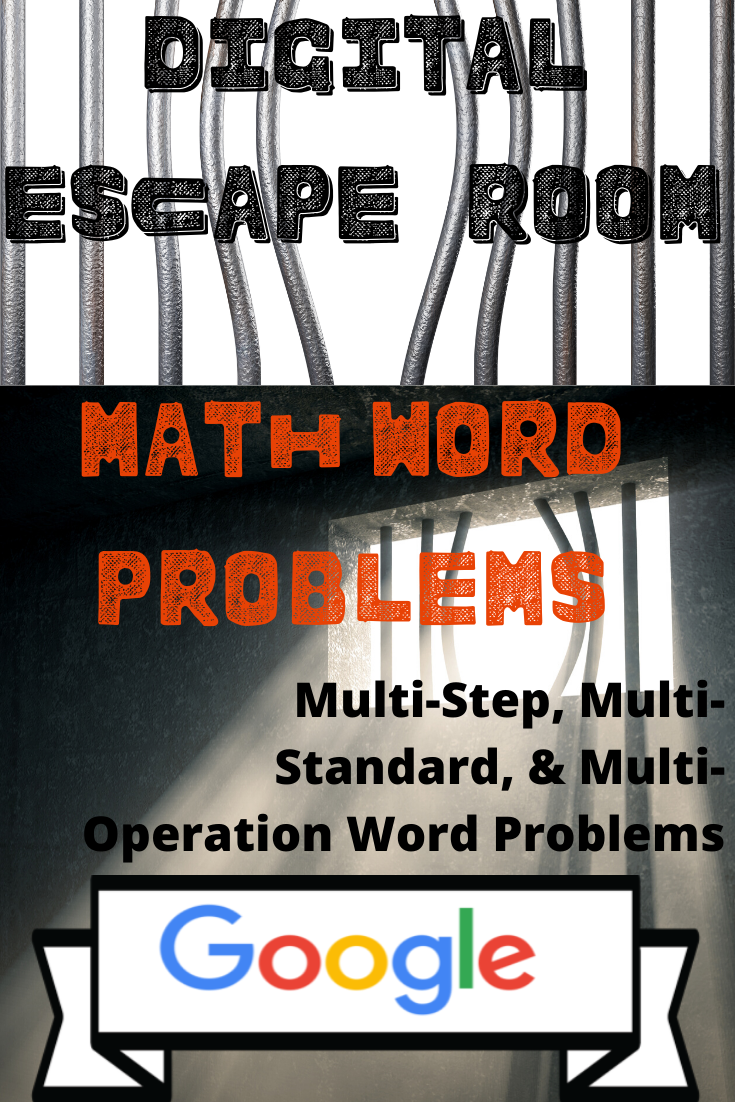 Distance Learning Digital Escape Room-Math Word Problems ...