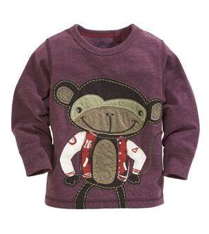 Next Nowa Piekna Bluzeczka Malpka R 110 4066197694 Oficjalne Archiwum Allegro Kids Outfits Monkey T Shirt Kidswear Fashion