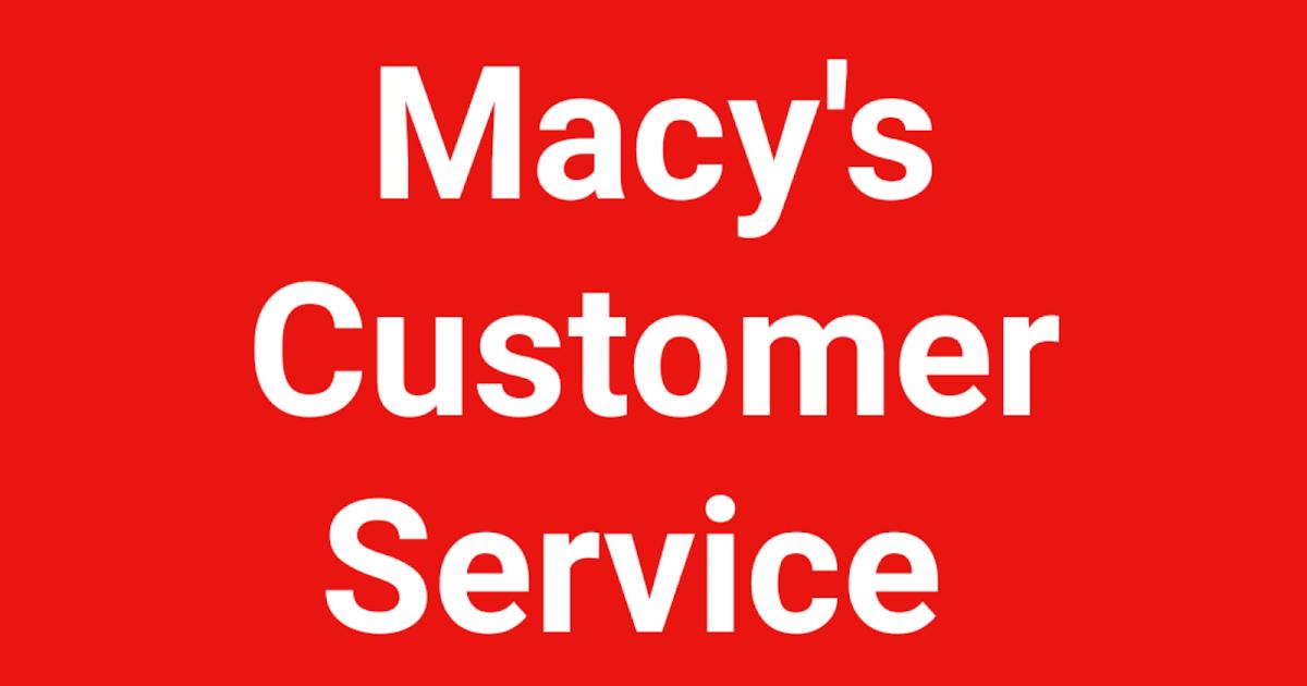 Pin by Customer Service on Customer Service Number in 2020  Customer service, Number videos, Macys