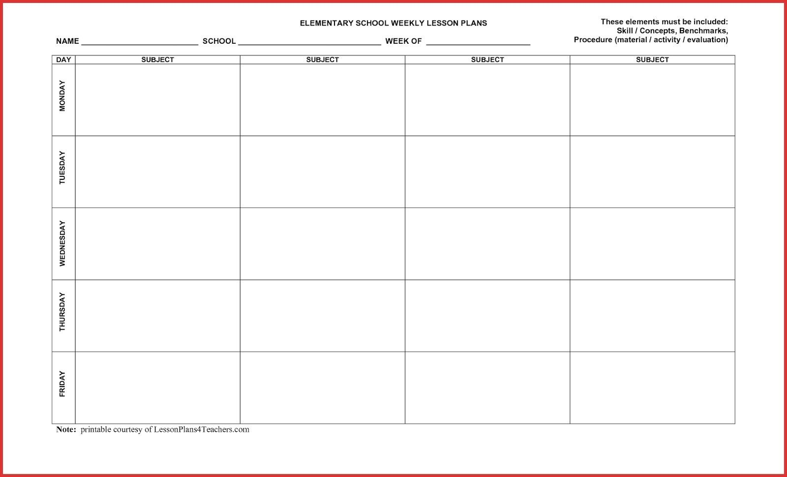 Blank 5 Day Calendar Template Dating Sider Co 5 Day Monthly Make