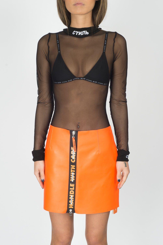 Heron Preston CTNMB Sheer Body In Black – CNTRBND   Style Muse ... 5f56e752f2
