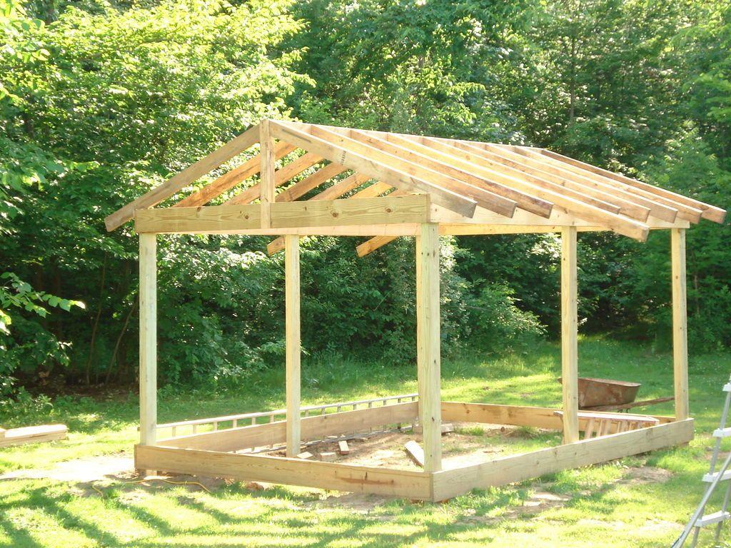 Construire Abri De Jardin comment construire une cabane 12×20 (3.6x6m) pas cher