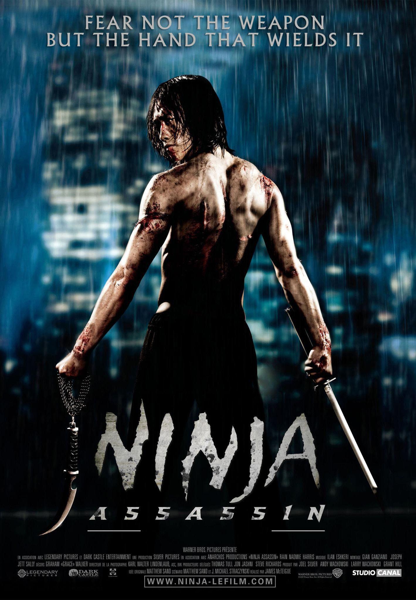 Ninja Assassin 2009 James Mcteigue Ninja Assassin Movie Assassin Movies Ninja Movies