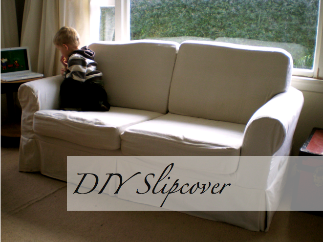 3 Cushion Slipcover Sofa Slipcover Tutorial, Part 3 – Sofa | Slipcovers, Diy