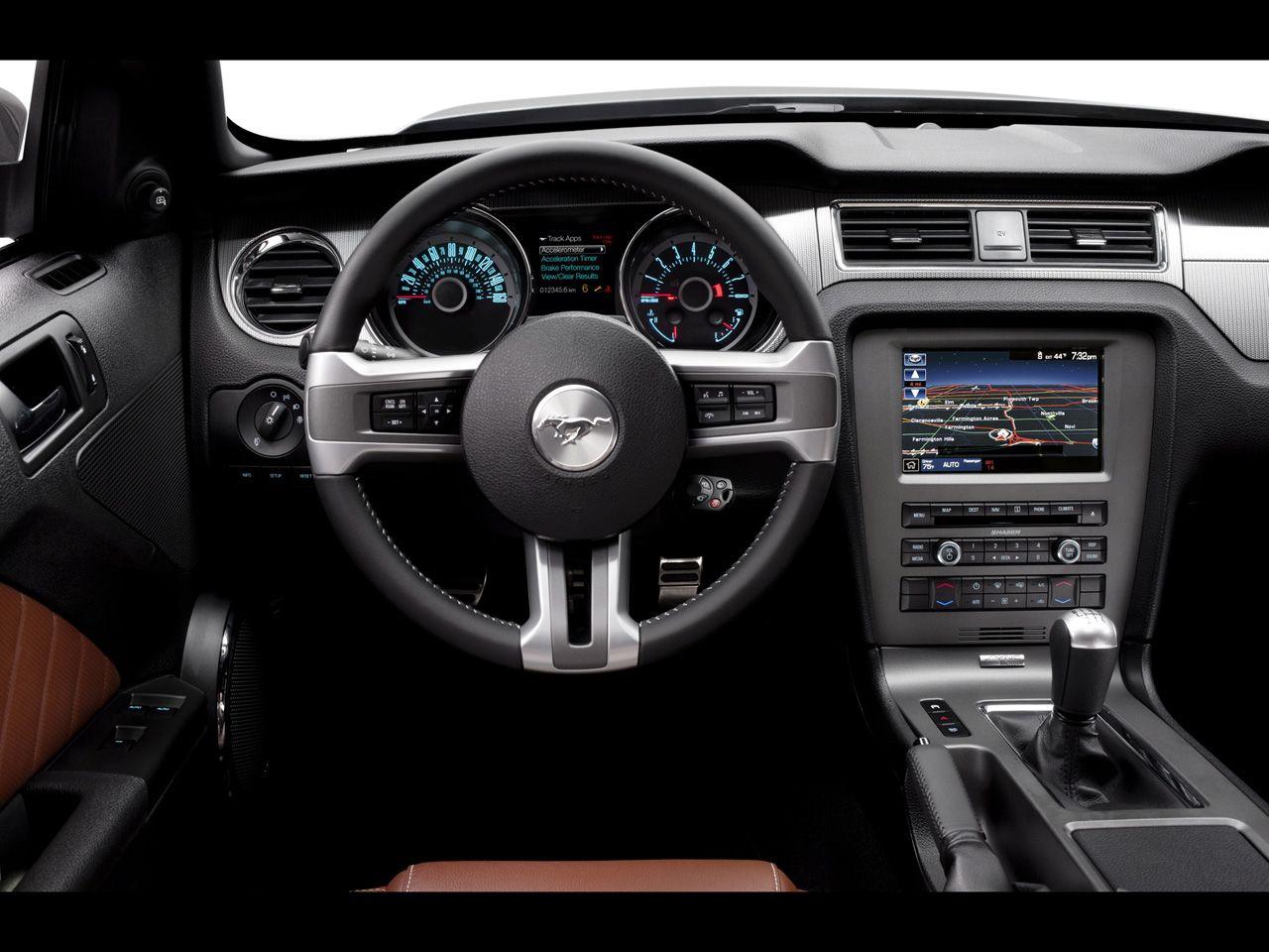 2013 Ford Mustang Dashboard Interior Mustang Interior Mustang