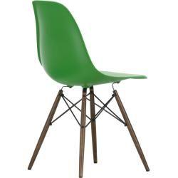 Eames Plastic Side Chair Stuhl Dsw mit Kunststoffgleitern Vitra