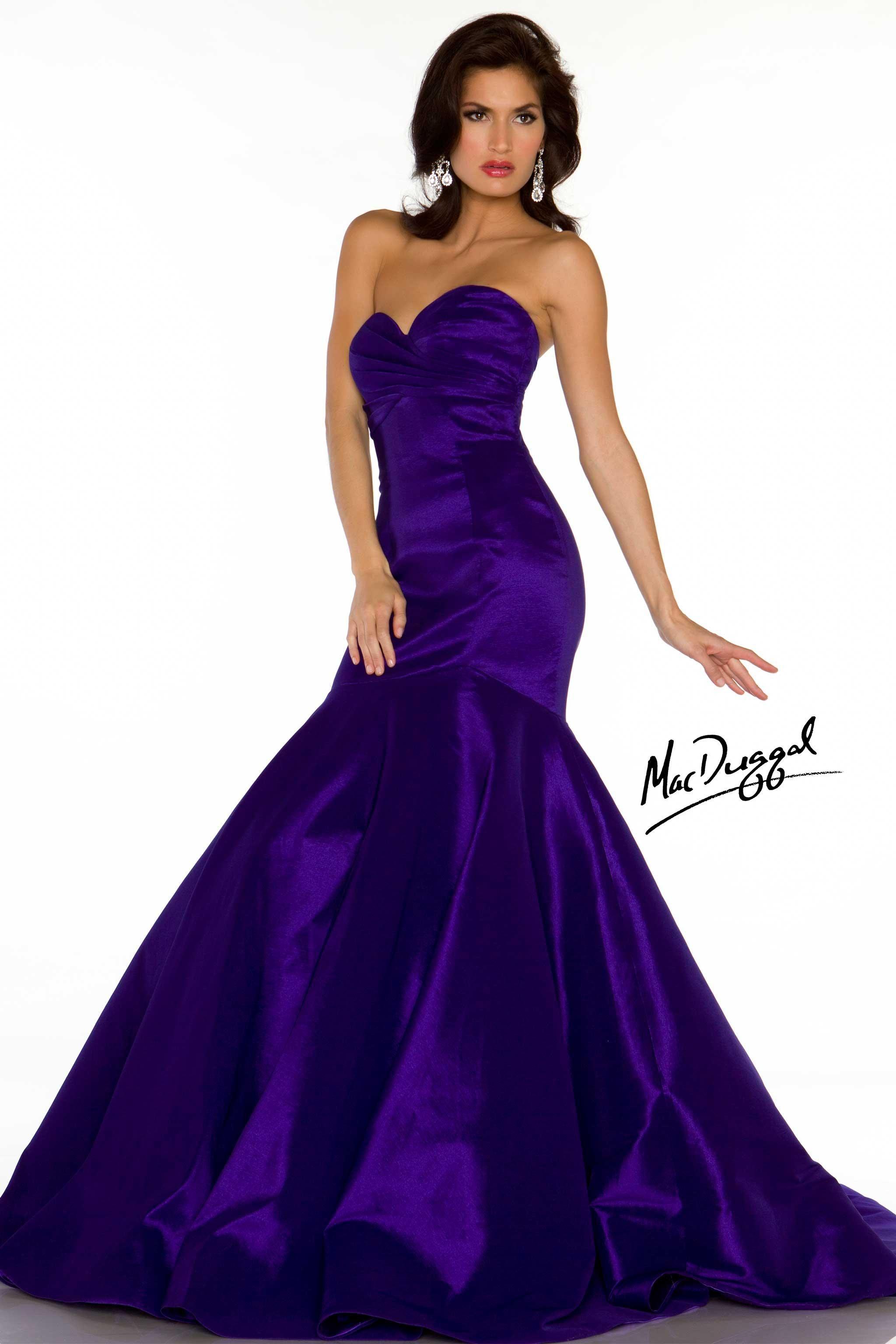 Royal Purple Dresses