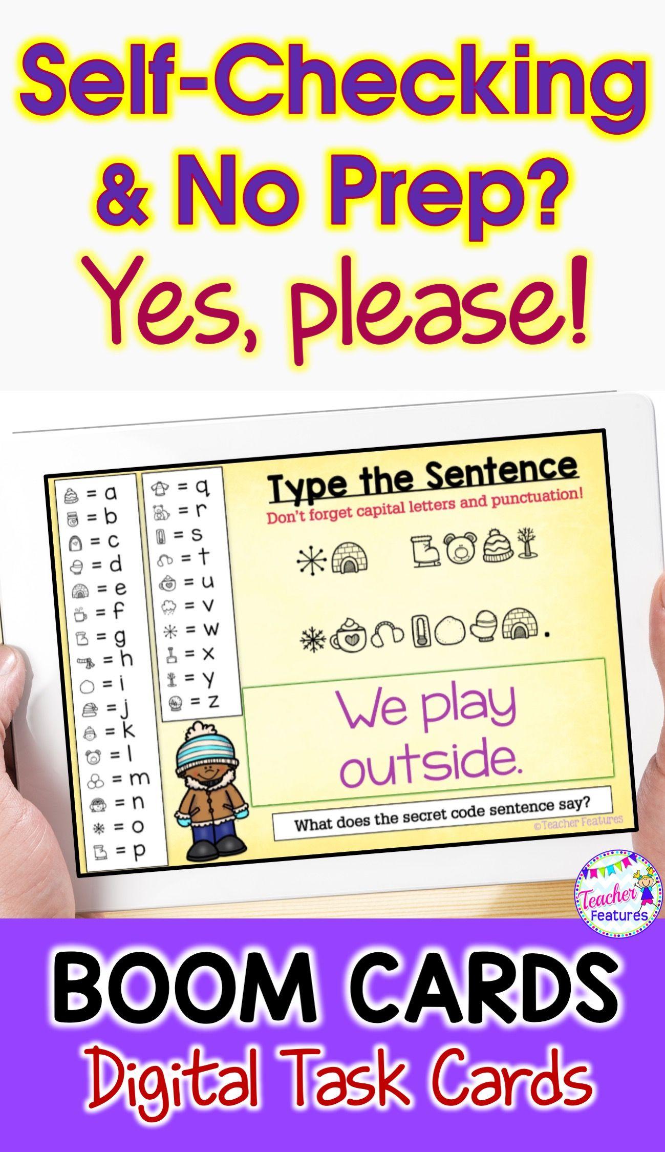K 1 Sentences Secret Code Winter Theme A Fun Common Core