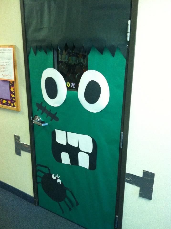 frankenstein door. classroom inspiration & frankenstein door. classroom inspiration | Classroom Bulletin Boards ...