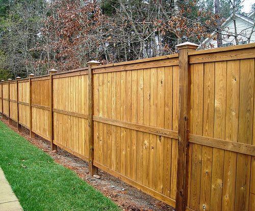 Wooden Fence House Fence Design Fence Design Wooden Fence