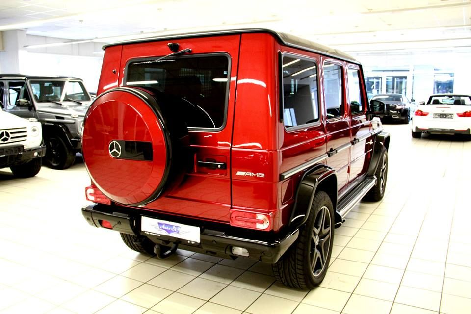 Tomato Red Mercedes G63 Amg Crazy Color Mercedes Mercedes G63