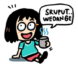 Sticker Cewek Bahasa Jawa Imut Sopan Dan Lucu Ayo Di