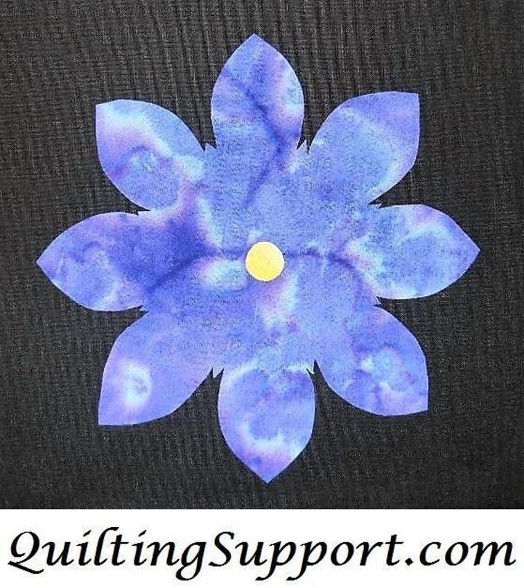 Pretty Simple Flower 2 Applique Craftsy Quilting Etc Quilts