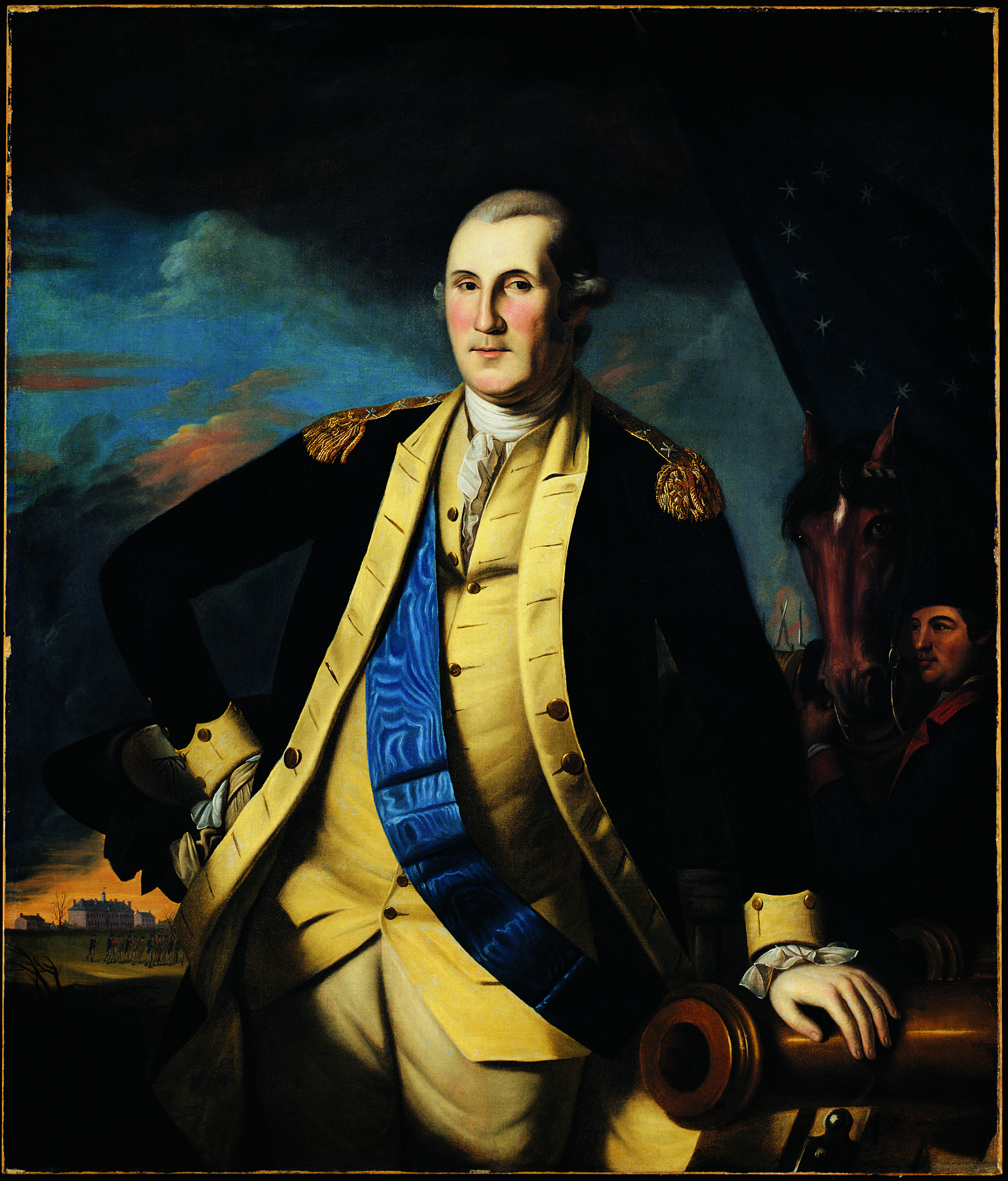 Peale Painted This Portrait For Elias Boudinot Of New