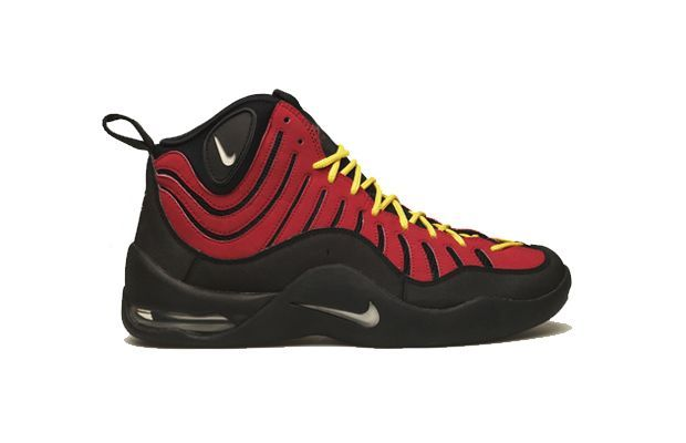 buy online 0ef10 f9c95 Nike Air Bakin Year released  1997 Complex says  Thanks to some ambiguous  flame-