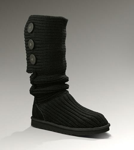 Ugg Classic Cardy Boots 5819 Black 5819 9999 Classic Ugg