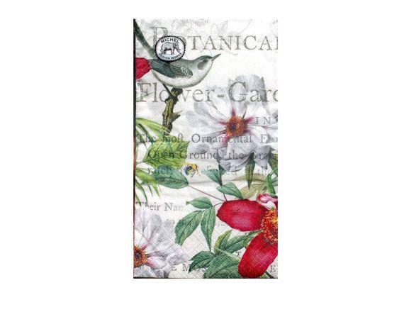 Flores primavera servilletas de papel para por DaisysNapkinSupply