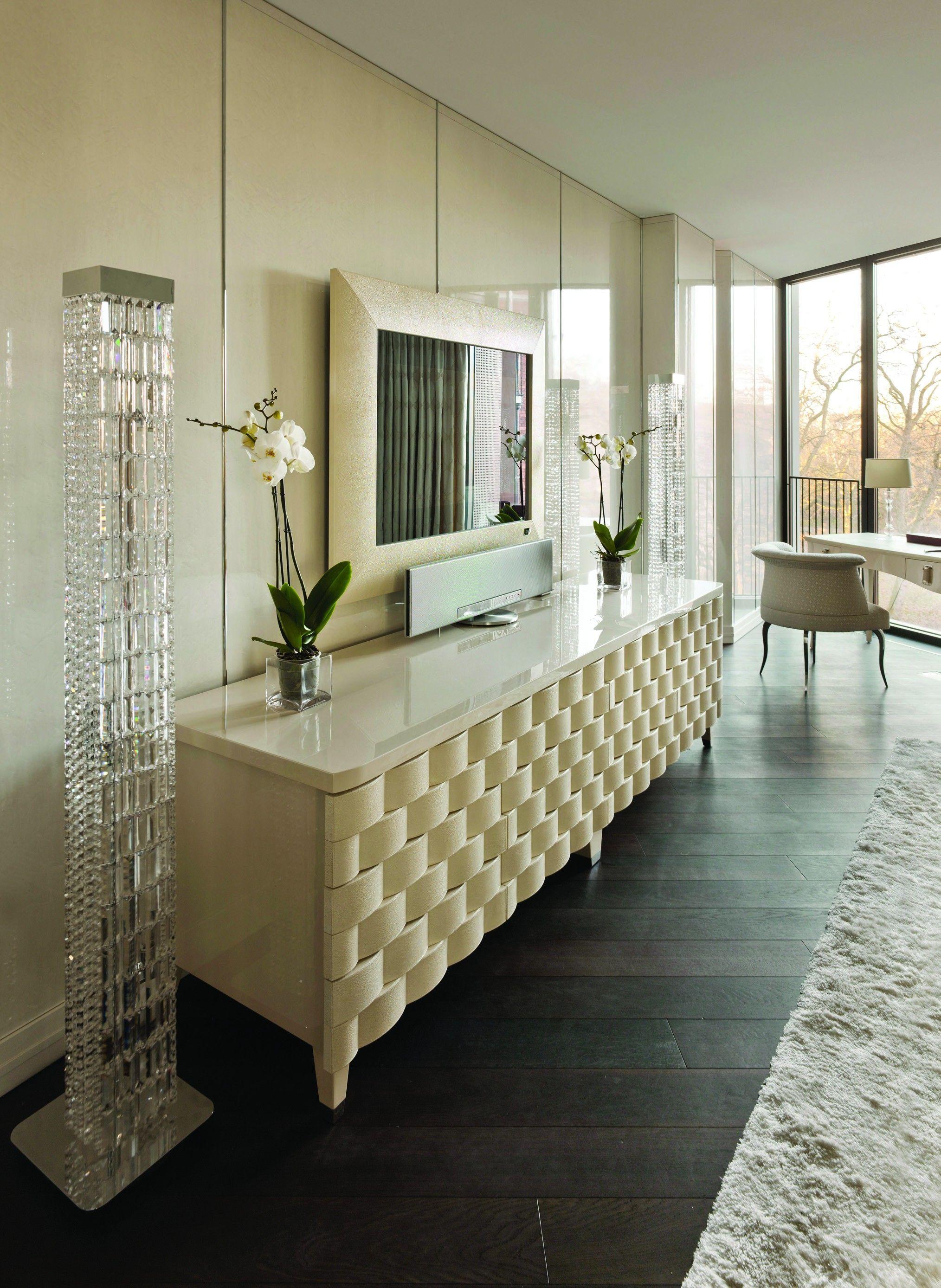 FENDI CASA   Astoria Chest By Dimitri Rybaltchenko ➤Get Inspired With Us!  Visit Www.modernconsoletables.net #consoletables #homedecorideas  #luxuryhomes