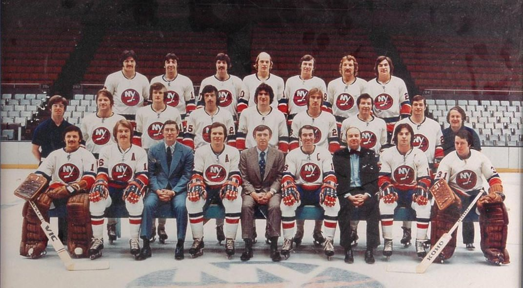 1974 75 New York Islanders Hockey Team Photos Team Photos Hockey Rules