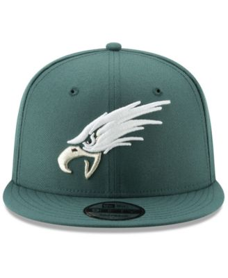 049f28e803a New Era Philadelphia Eagles Logo Elements Collection 9FIFTY Snapback Cap -  Black Adjustable