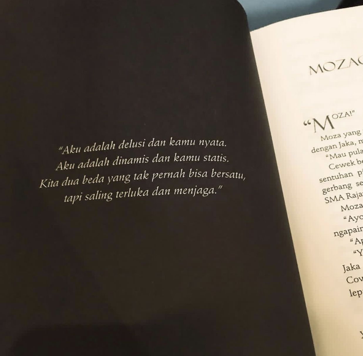 Novel Mozachiko Novel Kutipan Remaja Ungkapan