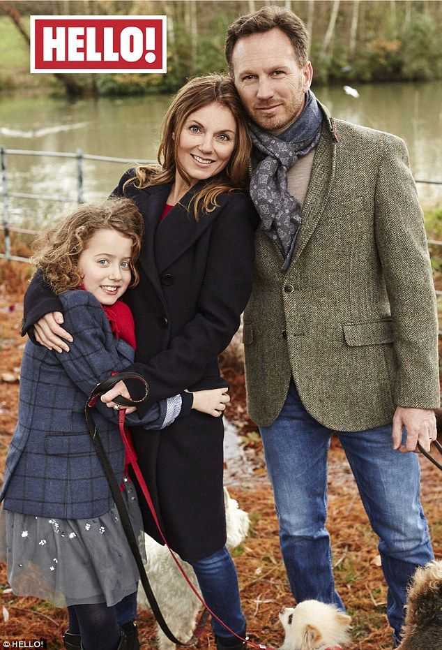 Geri Horner reflects on a 'landmark year' as she poses ...