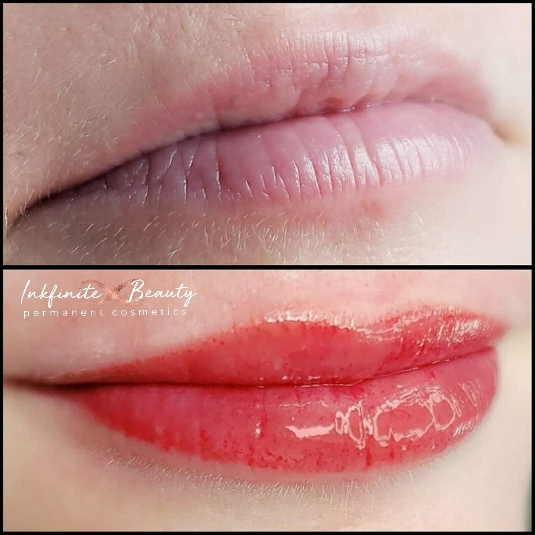 Soft Watercolor Lips Powderbrow Permanentmakeup Pmu