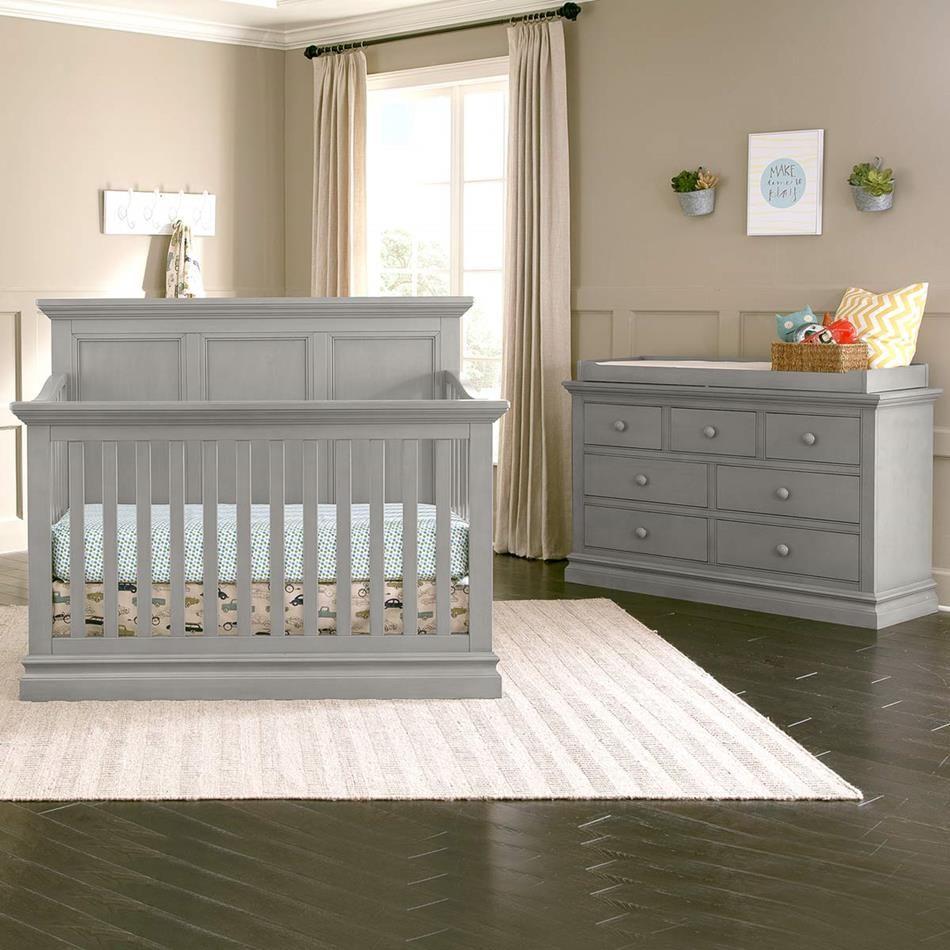 Westwood Design Pine Ridge 4 In 1 Panel Crib Cloud Nursery Set Cribs Baby Furniture
