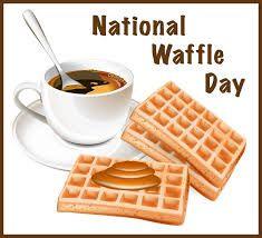 Wake up and smell the Waffles! it's #NationalWaffleDay so enjoy having #Funintheburbs