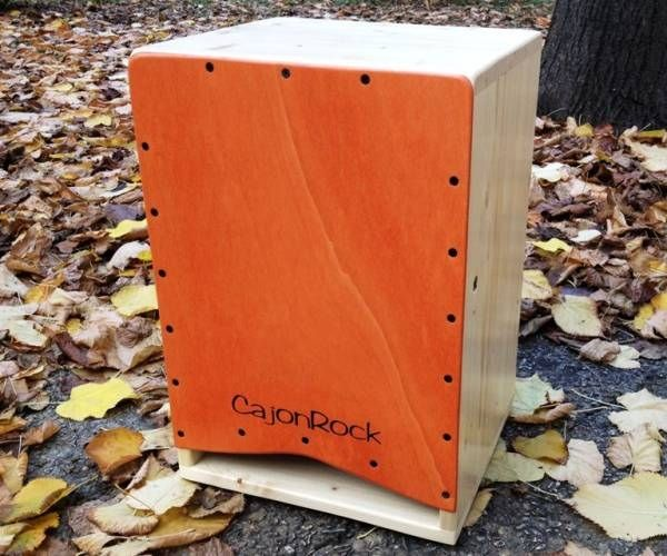 CajonRock is an Italian cajon maker best known for their front-ported designs such as this.