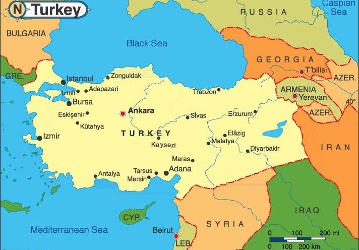 istanbul on europe map Zip Code Map: Istanbul On A Map Of Europe