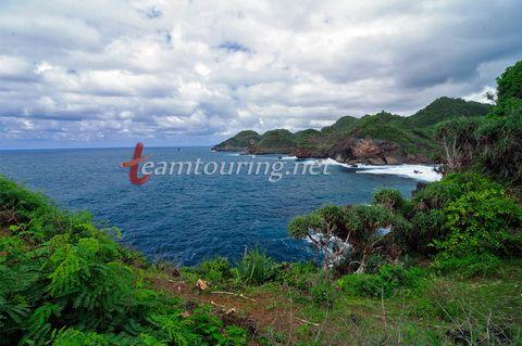 Pantai Nglojok Wonogiri Pantai Tebing Yang Masih Alami Pantai Pemandangan Alam
