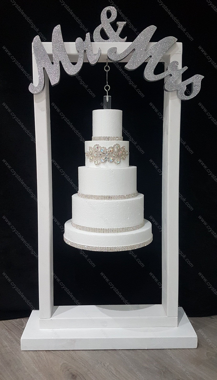 Professional Black White Acrylic Ferrero Rocher sweet wedding display stand