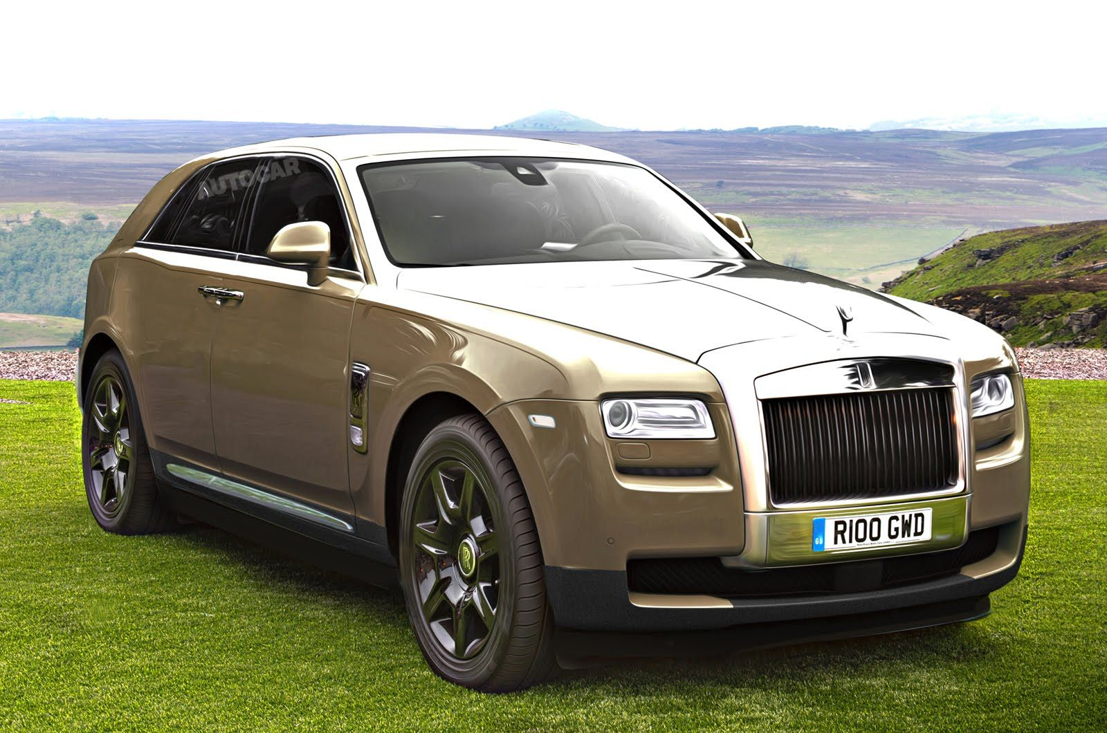 2018 rolls royce suv rendered 2016 new best cars - Rolls Royce Suv Oh No Rolls Royce Response To The Bentley Bentayga And Just For Good Measure They Have Decided To Paint Theirs In Metallic Gold Too