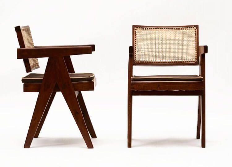 Le Corbusier Pierre Jeanneret Chair Est Living Design Directory Pierre Jeanneret Corbusier Furniture Corbusier Chair