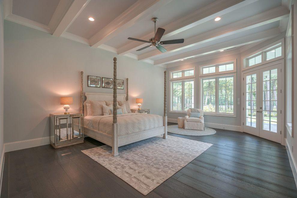 Large Master Bedroom Design Ideas : Fabulous transitional ...