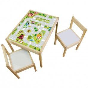 Ikea Kindertisch möbelfolie igelchen welt fuer ikea laett kindertisch 63 48 cm 01
