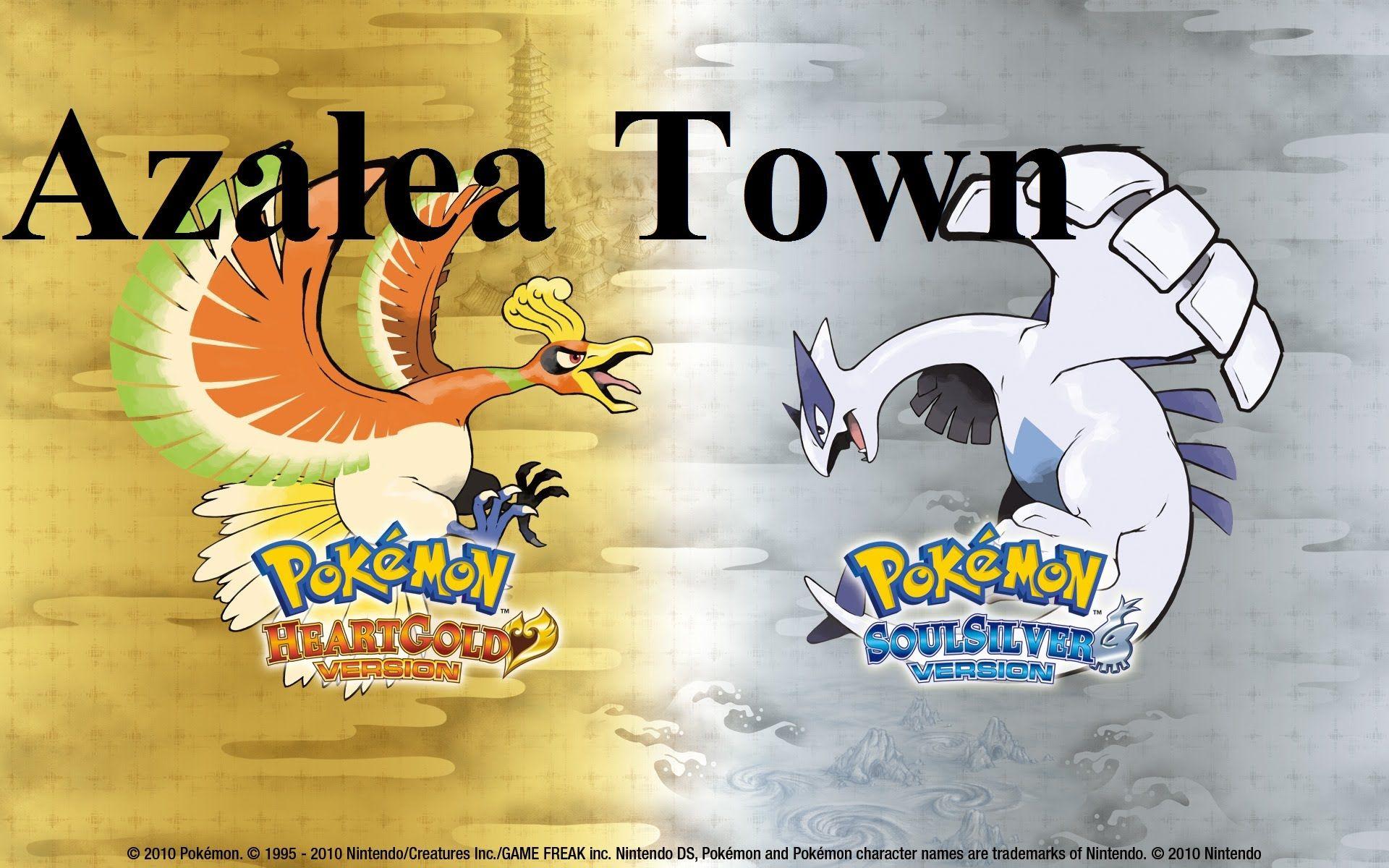 Azalea Town Pokemon Heart Gold Soul Silver Crystal Arrangement