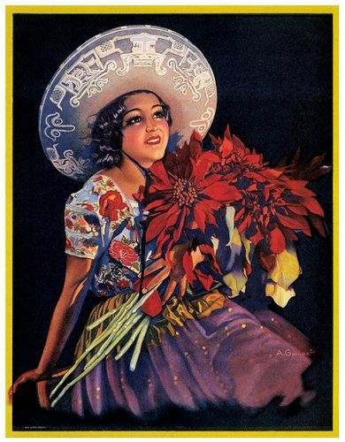 Mexican Calendar Art : Beautiful mexican art illustrations supaswag gt counter